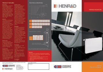 Henrad Everest flat and line brochure
