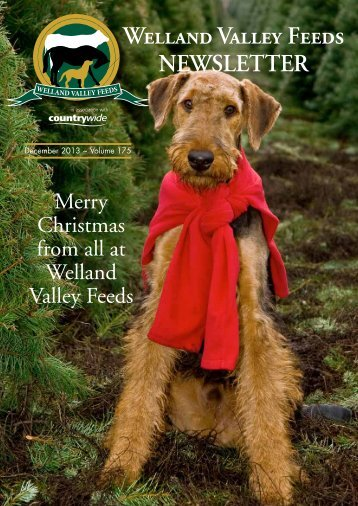 Welland Valley Feeds NEWSLETTER