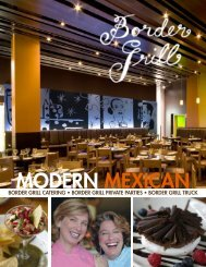Private Parties - Border Grill