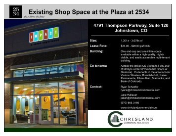 The Plaza at 2534 - Chrisland Commercial Real Estate, Inc.