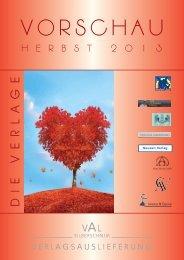 Download der Vorschau Herbst 2013 - VAL SILBERSCHNUR