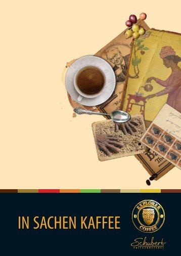 IN SACHEN KAFFEE - Explorer Coffee