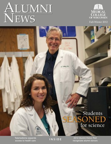 Fall-Winter 2012 issue (pdf) - Medical College of Wisconsin