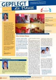 Ausgabe Herbst 2012 - Ökumenische Sozialstation Kaiserslautern eV