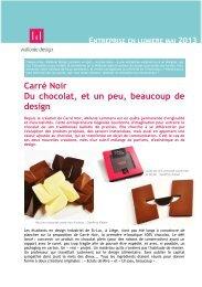 Lire l'article - Wallonie Design