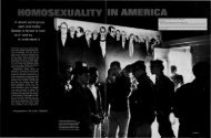 Homosexuality in America - SOL Research