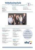 Anmeldung erforderlich - Volkshochschule Wedel - Seite 2