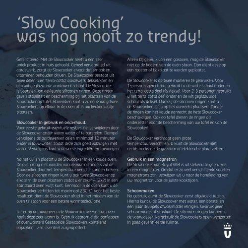Slowcooker - Royal VKB