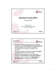 Radial Basis Function (RBFs) Introdução
