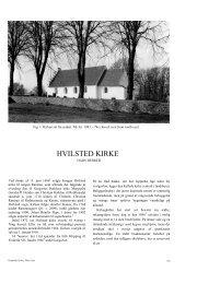 HVILSTED KIRKE - Nationalmuseet