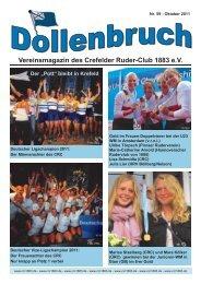 Oktober 2011 - Crefelder Ruder-Club 1883 eV