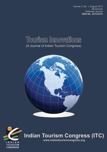 ITC Journal - Indian Tourism Congress