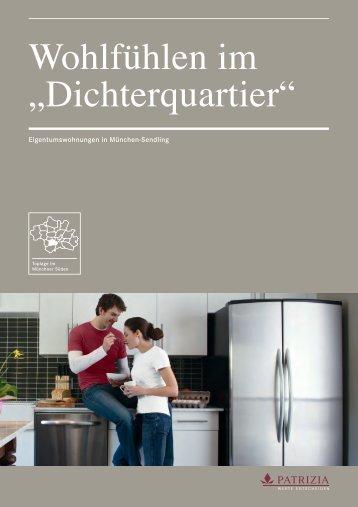"""Wohlfühlen im """"Dichterquartier"""" - PATRIZIA Immobilien AG"""