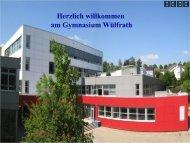 Präsentation der Schule - Gymnasium Wülfrath