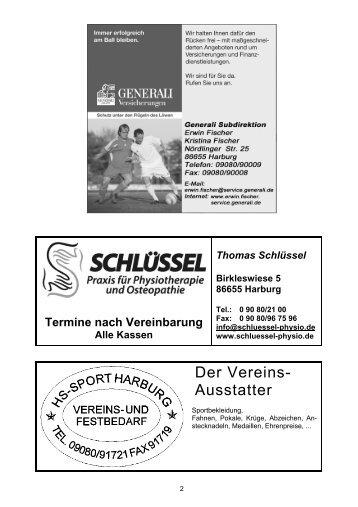 Gasthaus - TSV Harburg 1907 eV
