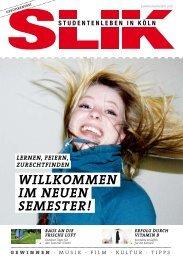 WiLLkommen im neuen semesteR! - SLIK