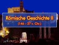 Römische Geschichte (146 – 27 v. Chr.)