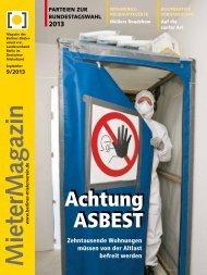 Achtung Asbest Achtung Asbest - Berliner Mieterverein e.V.