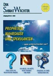 Jahrgang 83 Nr. 2 - Reformierte Siebenten-Tags-Adventisten in ...