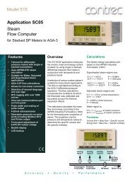 Model 515 Flow Computer - Insatech