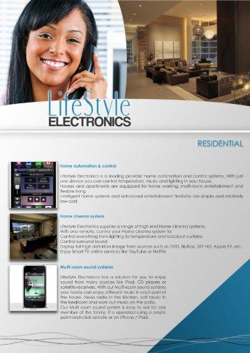 ELECTRO ICS - Lifestyle Electronics