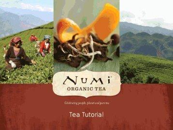 Tea Tutorial - Barista Pro Shop