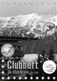ahresbericht - Ski Club Brienz