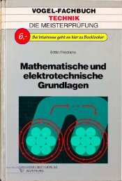 Böttle - Friedrichs Mathematische und elektrotechnische Grundlagen