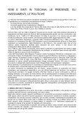 ROM E SINTI IN TOSCANA: LE PRESENZE, GLI ... - PeaceLink - Page 2