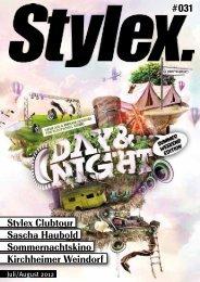 Stylex Clubtour Sascha Haubold ... - Stylex Magazin