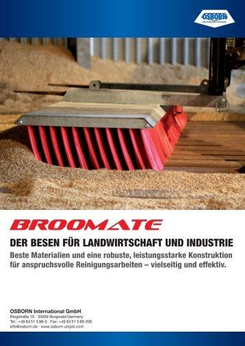 DER BESEN FÜR LANDWIRTSCHAFT UND INDUSTRIE - Broomate
