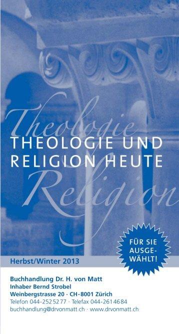 Neuerscheinungen Herbst 2013 - Buchhandlung Dr. von Matt