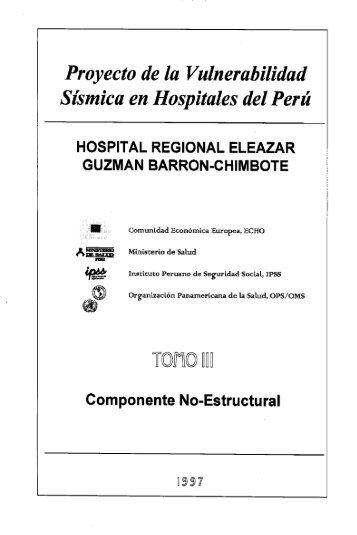 Proyecto de la Vulnerabilidad Sismica en Hospitales del Perú