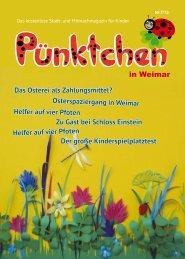 Ausgabe Weimar 01/13 - magazin-puenktchen.de