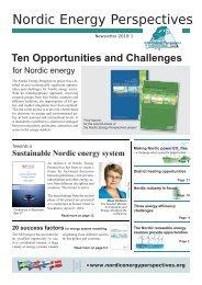 Newsletter 2010:1 - Nordicenergyperspectives.org