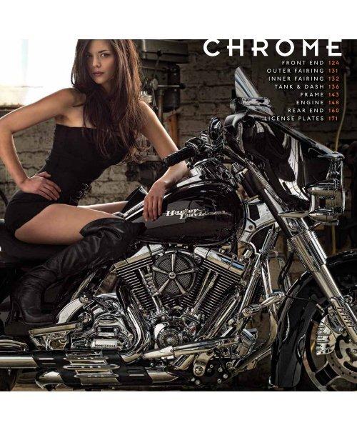 Kuryakyn 3157 Chrome Curved License Plate Frame for /'10-/'18 FLHX//FLTRX