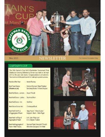 Download in PDF - Gaekwad Baroda Golf Club