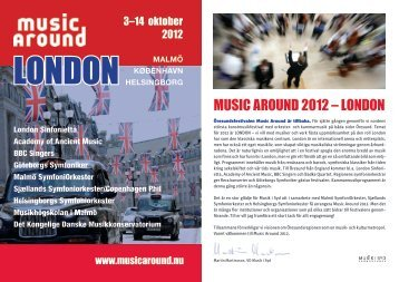 MUSIC AROUND 2012 – LONDON