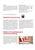 Download PDF Kursprogramm 2013 - TÜV Austria Akademie - Page 6