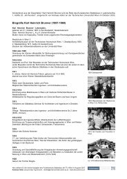 Biographie Karl Heinrich Brunner - Städtebau