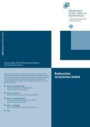 Bodenschutz im baulichen Umfeld - Bundesinstitut für Bau-, Stadt ...
