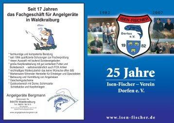 Chronik-Isenfischer 25 Jahre.pdf - Isen-Fischer Dorfen e.V.
