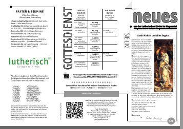 Gemeindebrief für September 2013 | PDF - Lutherische Gemeinde ...