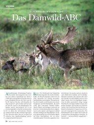 Das Damwild-ABC - Wild und Hund