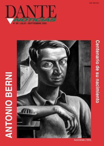 ANTONIO BERNI - Asociación Dante Alighieri