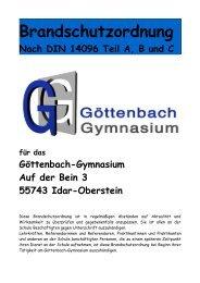 Brandschutzordnung - Göttenbach-Gymnasium