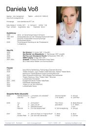 VITA als pdf-Datei - Daniela Voß