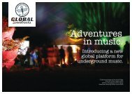 Adventures in music. - Global Soundtracks
