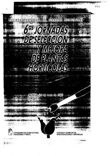 CONSEJO SUPERIOR DE INVESTlGAClONES ClENTIFICAS ...