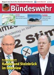 Kauder und Steinbrück im Interview - Foeg.de